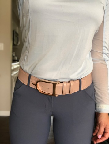 Blush w/ Rose Gold Spur Buckle
